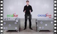 Бытовые вентиляционные установки EcoStar и CrosStar mini от AeroStar
