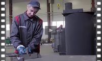 Производство отопительных твердотопливных котлов Рабика